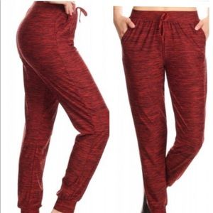 Pants - 💥NEW💥Ruby Red Track Pants Joggers